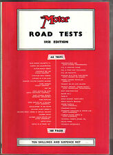 Motor Road Test Annual 1958 Cars Austin Edsel Goggomobil Lotus MG Simca Standard