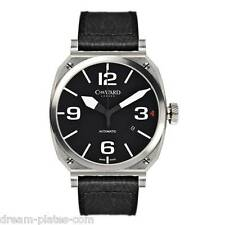 Christopher Ward C11 MSL Mk1 Automatic Swiss watch black face/leather strap BNWT