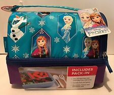 Thermos Disney's FROZEN Lunch Kit with Pack In Food Container NEW Insulated