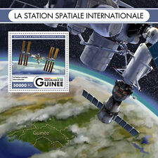 Guinea 2016 MNH International Space Station 1v S/S Stamps