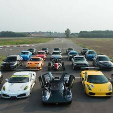 50% OFF 1 CAR SUPERCAR DRIVING EXPERIENCE GIFT VOUCHER PRESENT + PASSENGER LAP