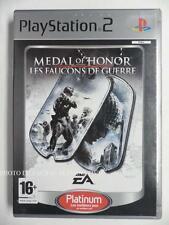 COMPLET jeu MEDAL OF HONOR LES FAUCONS DE GUERRE playstation 2 PS2 fps spiel