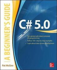 C# 5.0: A Beginner's Guide, Mcgee, Pat - Paperback Book NEW 9780071835831