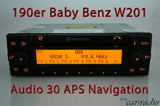 Mercedes Navigationssystem Audio 30 APS 190E Baby Benz W201 Original Navi Radio