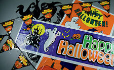 Halloween Bumper pack of 4 Banners Party Decorations Door Poster Banner FREE P&P