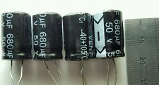 4 x 50v 680uF Capacitors - LCD / PLASMA TV Repair Kit Replacement 25v 35v ESR