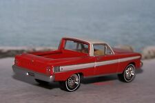 1965 65 FORD FALCON RANCHERO 1/64 SCALE MODEL DISPLAY COLLECTIBLE -  DIORAMA