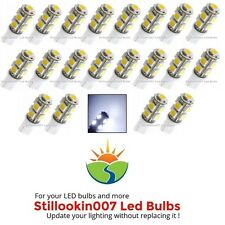 20 - Landscape light bulbs, COOL WHITE 9LED. Replaces 12v T5 Malibu bulbs
