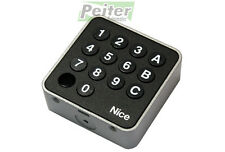 3 channel Nice EDSWG wireless keypad - FLOR compatible, frequency 433,92 MHz