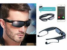 Smart Glasses Sunglasses HD Bluetooth 4.1 Stereo Outdoor Hiking Driving FM