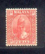 1938 Malaysia Malaya Perak 8c MH