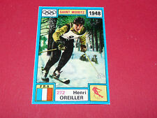 272 H OREILLER 1948 HIVER PANINI OLYMPIA 1896-1972 JEUX OLYMPIQUES OLYMPIC GAMES