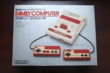 Famicom FC console v-good condition boxed Japan Nintendo import system US seller