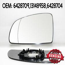 Lato Sinistro Vetro Specchietto Laterale Grandangolare Per Opel Meriva 03-10