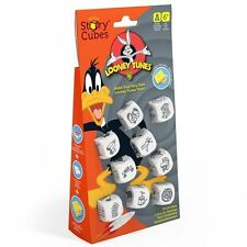 Looney Tubes Rory's Story Cubes - featuring Daffy, Taz, Wile E Coyote. Dice Game