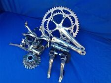 SHIMANO ULTEGRA 175 39/53 9 SPEED GROUP PARTS IN NICE CONDITION 6500 MODEL
