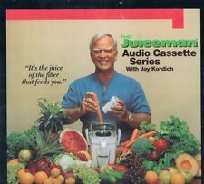 Thrilling Juice Tales with Jay Kordich Juiceman Audio Cassette Series 1989