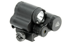 UTG LT-ELP28R Sub-compact LED Light and Aiming Adjustable Red Laser