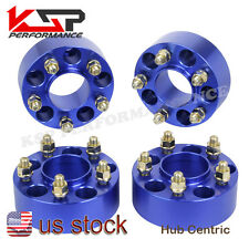 "4x 2"" Jeep Wheel Spacer adapters 5x4.5 to 5x114.3mm Liberty 02-12 1/2 Studs KSP"