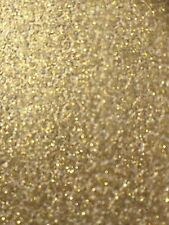 Brand New Gold Sparkle Crushed Glitter Luxury Wallpaper