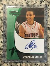 2009 Press Pass Fusion Stephen Curry  Rookie Card #SS-SC Rare; 3/50 AUTO