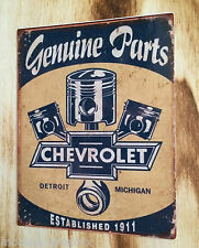 "Retro pegatina/sticker ""Chevrolet Chevy"" us v8 ratrod/Hot Rod-Blues"