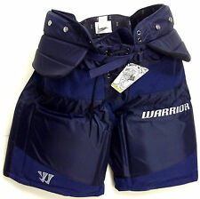 New Warrior Swagger ice hockey goalie pants sr small navy senior S goal sale