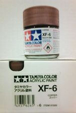 Tamiya acrylic paint. XF-6 Copper, 23ml.