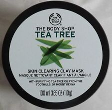 The Body Shop TEA TREE SKIN CLEARING FACE MASK  New 3.85 oz 110 g
