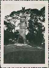 Indochine, Saigon. Le Monument aux Morts, 1949 vintage silver print.  Tirage a