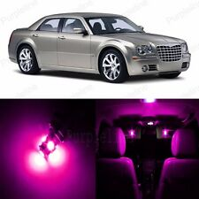 14 x Super Pink LED Interior Light Package For Chrysler 300 300C 2005 - 2010