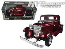 MOTORMAX 1:24 FORD 1932 COUPE DIE-CAST RED 73251