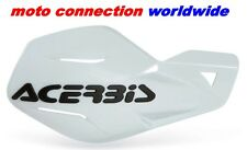 HAND GUARDS ACERBIS UNIKO  WHITE  -  HONDA CR125/250 94-07  & CRF250/450 02-16