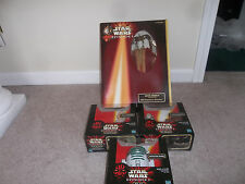 STAR WARS ACTION COLLECTION EPISODE 1 Anakin,Pit Driod,R2A6,and Amidala