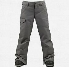 Burton Boys The White Collection Throttle Snowboard Pants (M) Jet Pack
