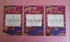 STARBUCKS 2015 Lot of (3) - Reserve Tasting Card VIETNAM DA LAT - NEW