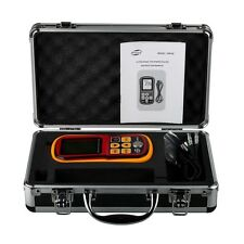 GM100 Ultrasonic Wall Thickness Gauge Meter Tester Steel PVC Digital Test Tool