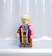 A887 Lego CUSTOM PRINTED Lego Dimensions INSPIRED DOCTOR WHO SIXTH DR MINIFIG 6