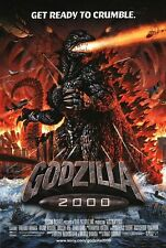 Godzilla 2000 - original DS movie poster - 27x40 D/S