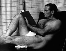 CHARLTON HESTON Shirtless Photo .