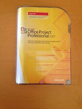 Office Project professoonal 2007 Upgrade RETAIL W licenza