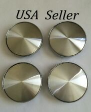 "4 pcs Universal Chrome Silver Wheel Center Caps 60mm/ 2 3/8""  Fit Many Cars VW"