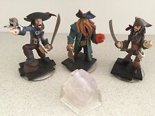 *COMPLETE SET* Pirates of the Caribbean Disney Infinity 1.0 Playset *BUY 4 XMAS*
