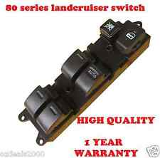 Master Power Electric Main Window Switch fits TOYOTA 80 Series LANDCRUISER 90-98