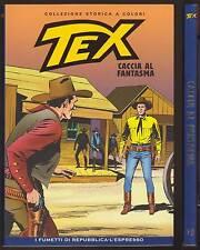 TEX 19 CACCIA AL FANTASMA - REPUBBLICA COLLEZIONE STORICA A COLORI