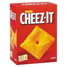 48 oz Sunshine Cheez-It Cheddar Crackers  Made with 100% real cheese