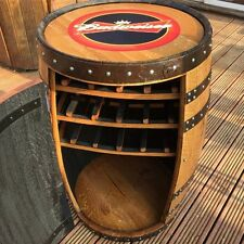"Solid Oak Whisky Barrel  Budweiser ""Balmoral"" Drinks Cabinet 