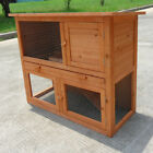 NEW STOCK Two Storey Rabbit,Ferret,Guinea Pig Cage Run Hutch T002T Free pick