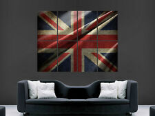 """GREAT BRITAIN BRITISH FLAG ART WALL LARGE IMAGE GIANT POSTER """""""