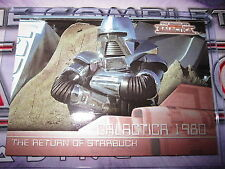THE COMPLETE BATTLESTAR GALACTICA SAISON 1 CHASE CARD SUBSET GALACTICA 1980 G19